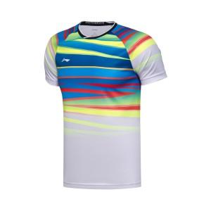 Li-Ning 2017 BWF World Championships National Badminton Team Men's Sponsorship T-shirts [Fans Edition]