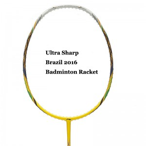 Li-Ning Badminton Racket Ultra Sharp Brazil 2016 [AYPL102-1]