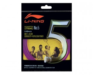 Li-Ning Badminton Racket String No. 5 String in Purple