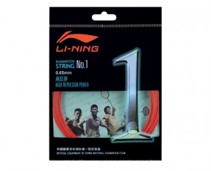 Li-Ning Badminton String No. 1 String in Red