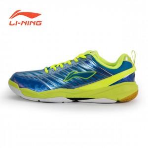 LI-Ning Men's Badminton Shoes - Blue [AYZK003-4]