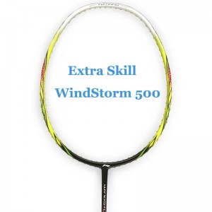 LI-Ning Badminton Racket Extra Skill Windstorm 500