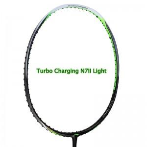Li-Ning 2017 Indonesia Olympic Champion Nasir Badminton Racket Turbo Charging N7II Light [AYPM212-1]