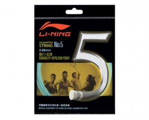 Li-Ning Badminton Racket String No. 5 String in Green