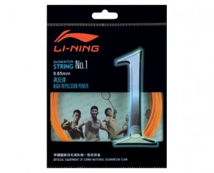 Li-Ning Badminton String No. 1 String in Outrageous Orange
